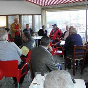 Με το διοικητικό συμβούλιο του συλλόγου Τρίτων και καταστηματάρχες οι οποίοι δραστηριοποιούνται στην περιοχή των Σφαγείων