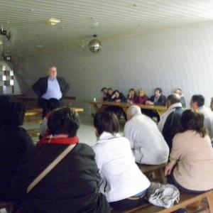 Ομιλία με τους κατοίκους του χωριού Ν.Ζυγός