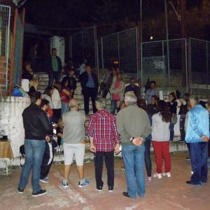 Συζήτηση με κατοίκους των περιοχών των Πεντακοσίων και της Αγίας Βαρβάρας