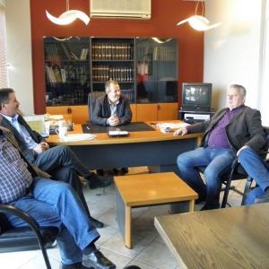 Συνάντηση με Διοικητικό Συμβούλιο ΕΑΣ Καβάλας