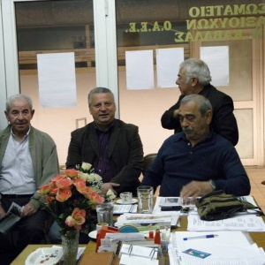 Συνάντηση με συνταξιούχους