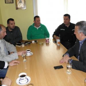 Συνάντηση με το Σωματείο και τον Συνεταιρισμό ταξί