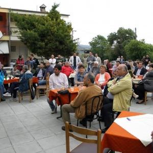 παρουσίαση του προγράμματος και των θέσεων του Συνδυασμού  στους κατοίκους του Περιγιαλίου