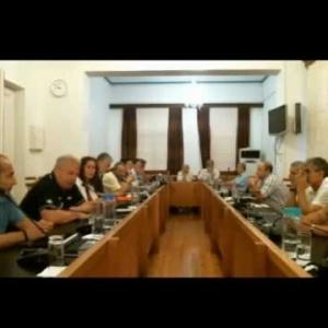 Βαγγέλης Παππάς στην 17η Συνεδρίαση Δημοτικού Συμβουλίου Καβάλας 2017