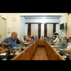 Βαγγέλης Παππάς στην 22η Συνεδρίαση Δημοτικού Συμβουλίου Καβάλας 2017
