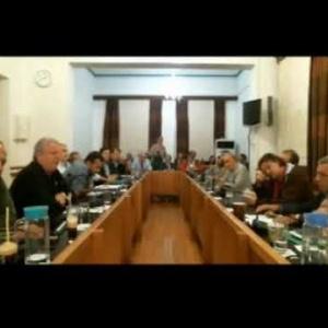 Βαγγέλης Παππάς στην 26η Συνεδρίαση Δημοτικού Συμβουλίου Καβάλας 2017