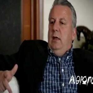 Ο ΒΑΓΓΕΛΗΣ ΠΑΠΠΑΣ στο Ena Channel TV  18 Απρ 2014